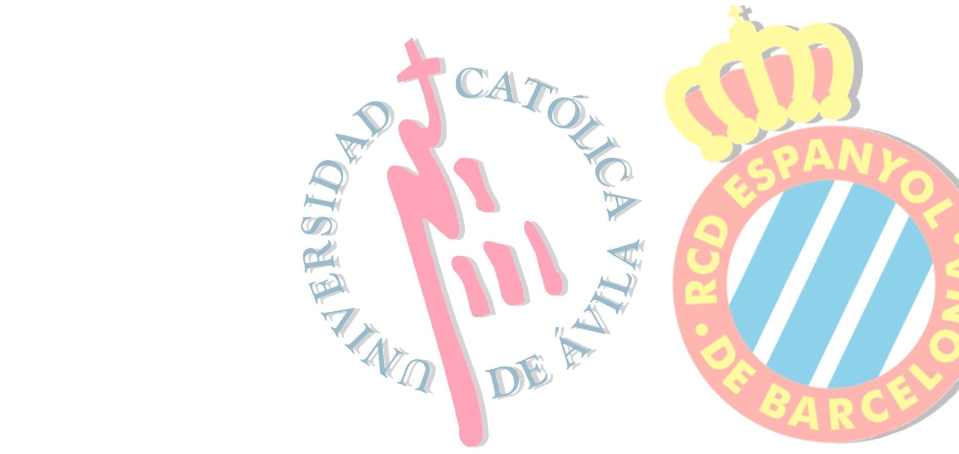 UCAV & Escola RCDE logos