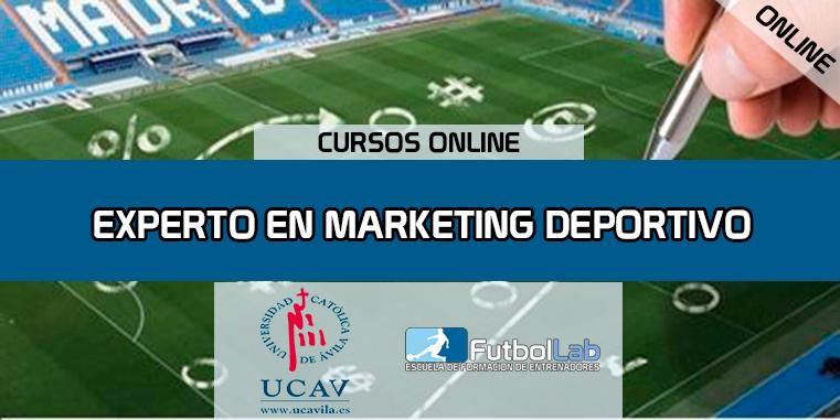 غطاء الدورةخبير في التسويق الرياضي (UCAV)
