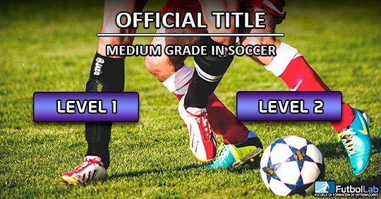 غطاء الدورةشهادة الدرجة المتوسطة الرسمية في كرة القدم
