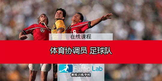 课程封面足球队运动协调员专家