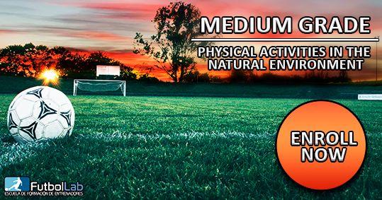 课程封面自然环境中体育活动的正式学位中级学位