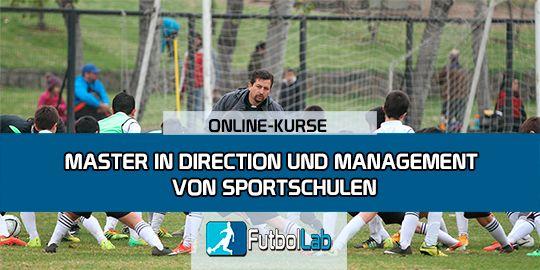 KursabdeckungMaster in Administration und Management von Sportschulen
