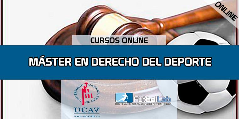 KursabdeckungMaster in Sportrecht (UCAV)