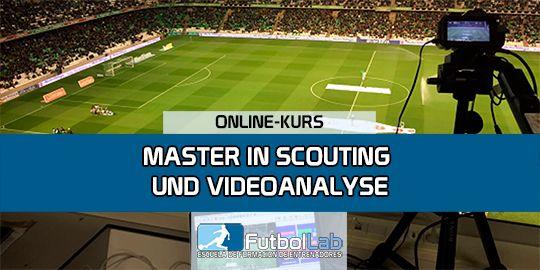 KursabdeckungMaster in Scouting und Videoanalyse