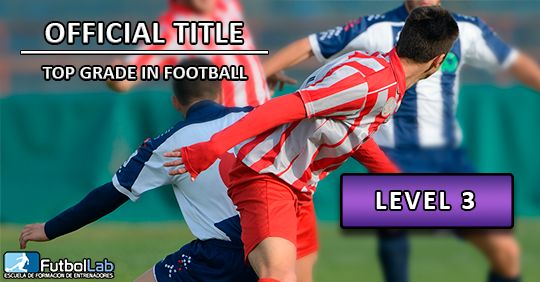Course CoverOfficial Degree of Higher Degree in Soccer