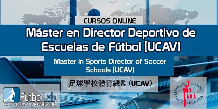 Course CoverMaster Sports Director of Soccer Schools (UCAV)