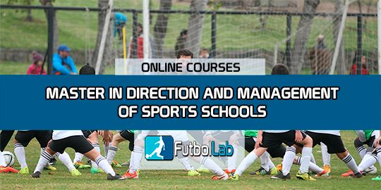 Course CoverMaster in Administration and Management of Sports Schools