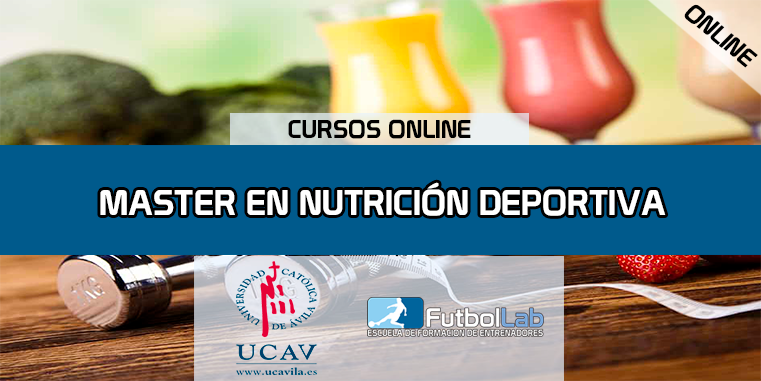 Course CoverMaster in Sports Nutrition (UCAV)