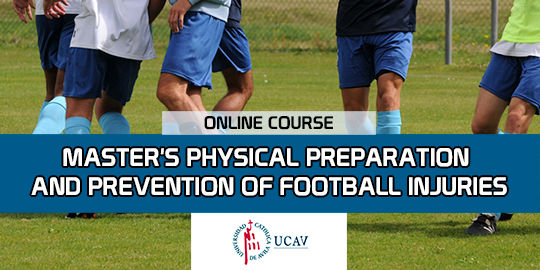 Course CoverMaster in Physical Preparation and Injury Prevention (Universidad Catolica de Ávila)