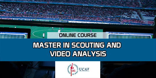 Course CoverMaster in Scouting and Video Analysis of Sport (Universidad Católica de Ávila)