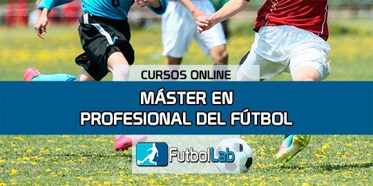 Portada del curso Máster en Profesional del Fútbol