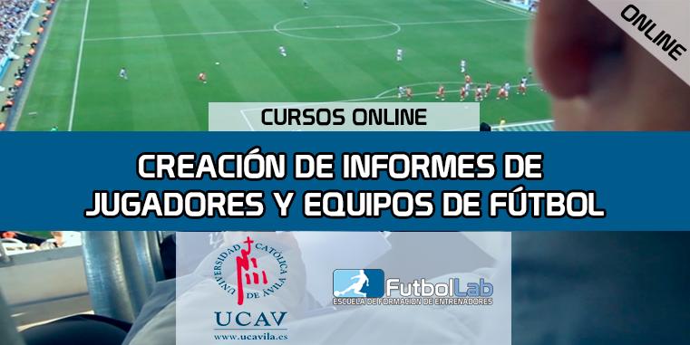 Portada del curso Creación de Informes de Jugadores y Equipos  (Universidad Católica de Ávila)