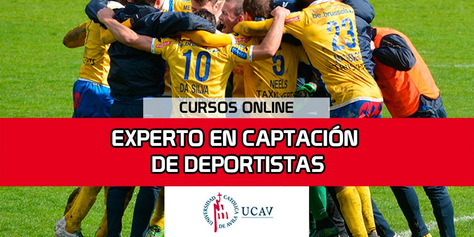 Portada del curso Experto Universitario en Captación de Deportistas (Universidad Católica de Ávila)