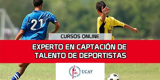 Portada del curso Experto Universitario en Captación de Talento de Deportistas (Universidad Católica de Ávila)