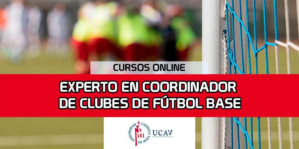 Portada del curso Experto Coordinador Deportivo en Equipos de Fútbol