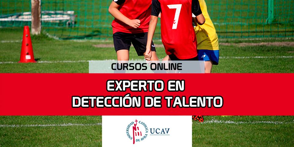 Portada del curso Experto en Detección de Talento (Universidad Católica de Ávila)