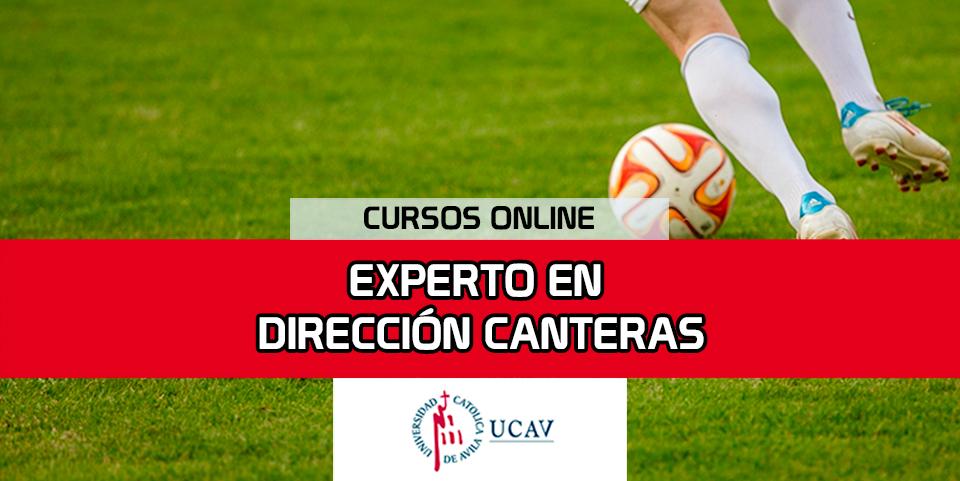 Portada del curso Experto Universitario Dirección Canteras  (Universidad Católica de Ávila)