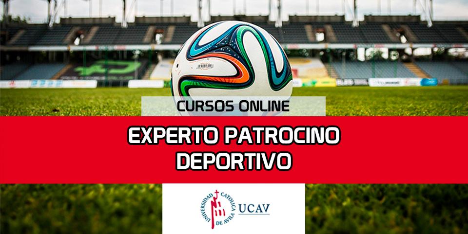 Portada del curso Experto en Patrocinio Deportivo (Universidad Católica de Ávila)