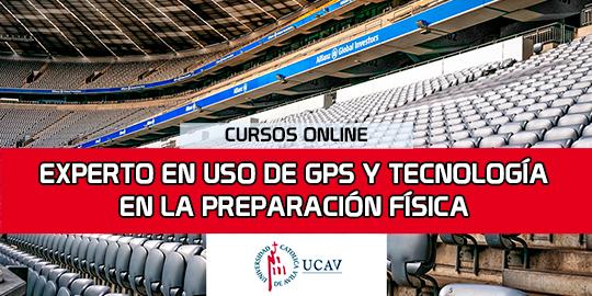 Portada del curso Experto en Uso de GPS y Tecnología en la Preparación Física (Universidad Católica de Ávila)