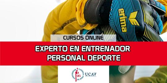 Portada del curso Experto  Entrenador Personal Deporte (Universidad Católica de Ávila)