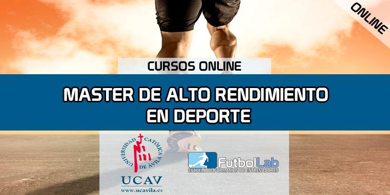 Portada del curso Master en Alto Rendimiento en Deporte (Universidad Católica de Ávila)