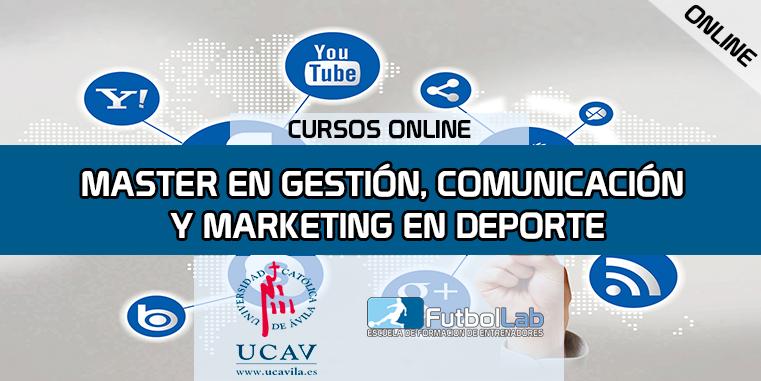 Portada del curso Máster en Gestión,Comunicación Y Marketing Deportivo (Universidad Católica de Ávila)
