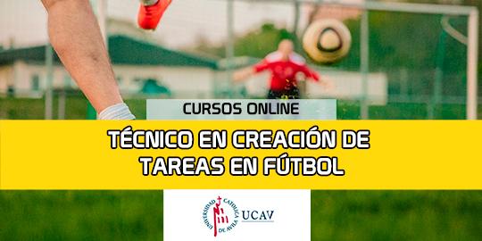 Portada del curso Técnico en creación de tareas en  fútbol (Universidad Católica Ávila)