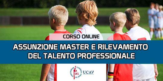 Copertura del corsoMaster in reclutamento e rilevazione di talenti professionali (Università cattolica di Avila)