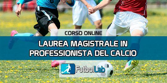 Copertura del corsoMaster in Soccer Professional