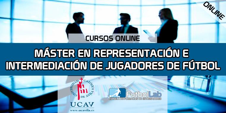 Copertura del corsoMaster in rappresentanza e intermediazione dei calciatori (Università cattolica di Avila)