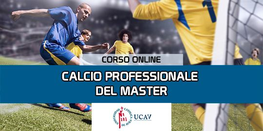 Copertura del corsoMaster in Soccer Professional (Università Cattolica di Ávila)