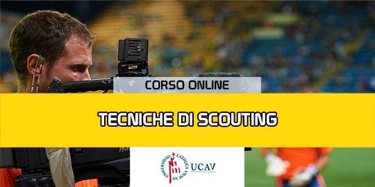 Copertura del corsoTecnico di scouting (Università cattolica di Avila)