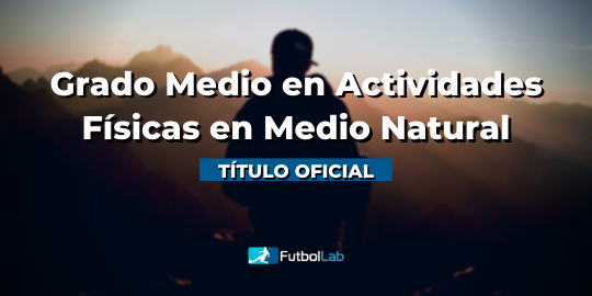 Capa do CursoGrau oficial Médio grau de atividades físico-esportivas no ambiente natural