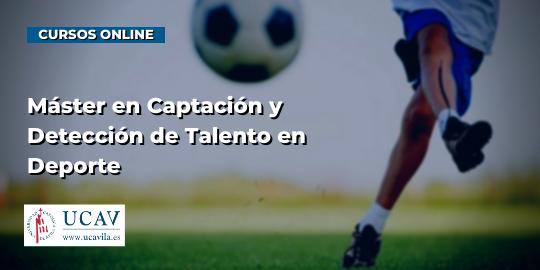 Capa do CursoMestrado em Recrutamento e Detecção de Talento Profissional (Universidade Católica de Ávila)