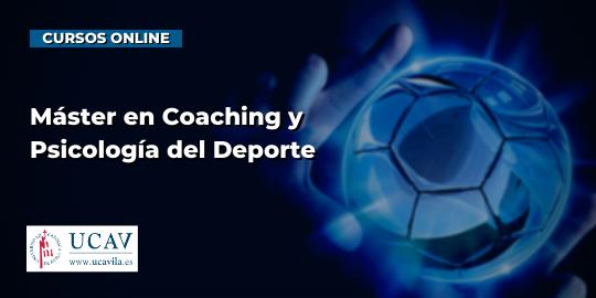 Copertura del corsoMaster in coaching e psicologia dello sport (UCAV)