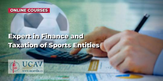 Обложка курсаЭксперт по финансам и налогообложению спортивных организаций (UCAV)