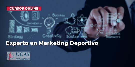Capa do CursoEspecialista em Marketing Esportivo (UCAV)