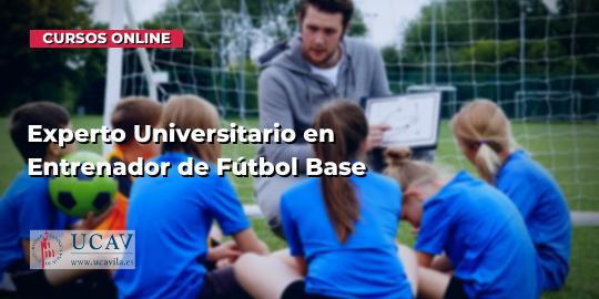 Portada del curso Experto Universitario en Entrenador de Fútbol Base (Universidad Católica de Ávila)