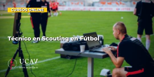 Portada del curso Técnico en Scouter en Fútbol (Universidad Católica de Ávila)