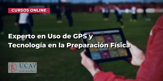 Capa do CursoEspecialista em Uso de GPS e Tecnologia de Preparação Física (UCAV)