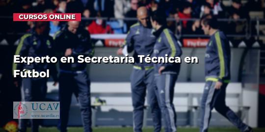 Portada del curso Experto en Secretaria Técnica en Fútbol (Universidad Católica de Ávila)