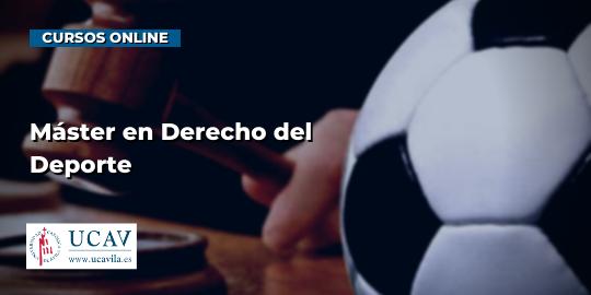 Capa do CursoMestre em Direito do Esporte (UCAV)