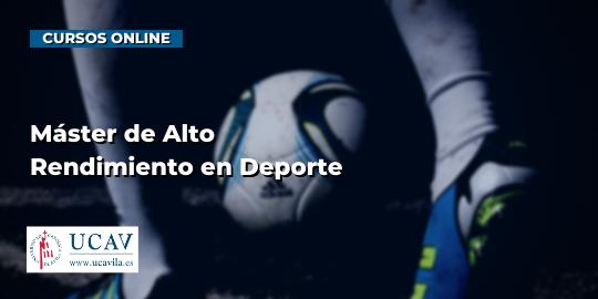 Capa do CursoMestre De Alto Desempenho No Esporte (Universidade Católica De Ávila)