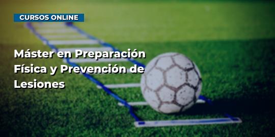 Portada del curso Máster en Preparación Física y Prevención de Lesiones