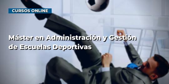 Portada del curso Máster en Administración y Gestión de Escuelas Deportivas
