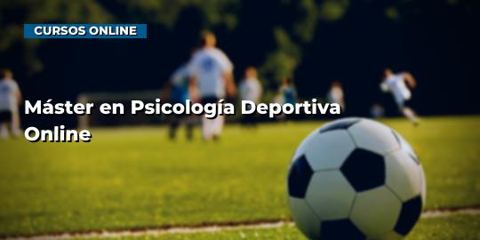 Portada del curso Máster en Psicología Deportiva Online