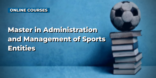 Course CoverMaster in Administration and Management of Sports Entities
