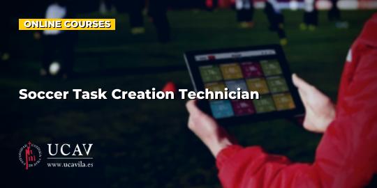 Course CoverTechnician in creating tasks in soccer (Universidad Católica Ávila)