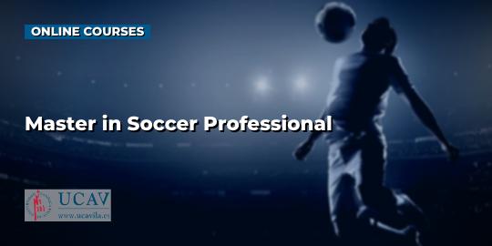غطاء الدورةماجستير في كرة القدم الاحترافية (الجامعة الكاثوليكية في أفيلا)
