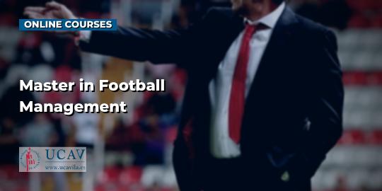 Course CoverMaster in Football Management (Universidad Católica de Ávila)